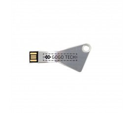 Triangle Metal Key USB Flash Drive