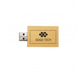 Rectangular Wooden USB Flash Drive