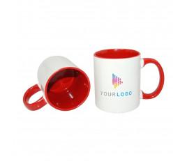 Inner Rim Color Mug (Full Color Printing)
