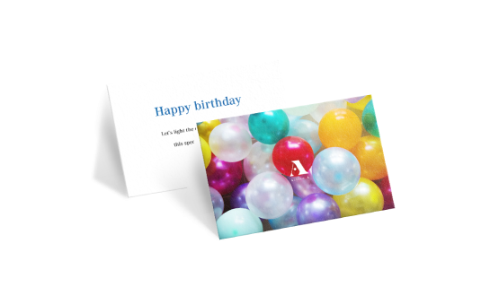 Print Your Folded Greeting Cards Online