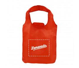 กระเป๋าไนลอนพร้อมกระเป๋าพับเก็บ (40 x 42 ซม.)