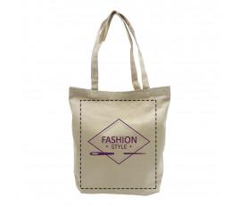 กระเป๋าผ้าแคนวาสแบบพรีเมี่ยม (34 x 40 x 10 ซม.)