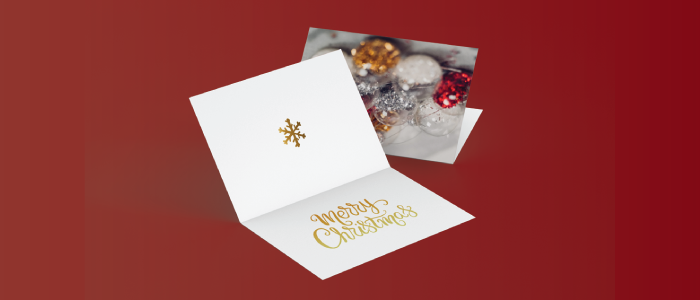 Personalized Holiday Cards for Marketing