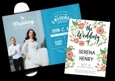Print Wedding Cards Online